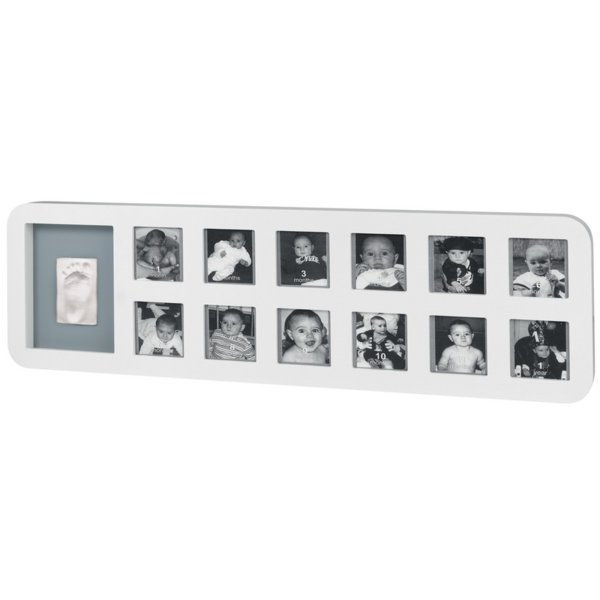 Baby Art Комплект 1-ва Година - Modern Trendy бяла рамка 00033